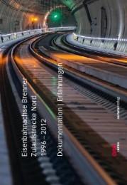 Eisenbahnachse Brenner - Zulaufstrecke Nord 1996-2012