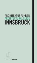 Architekturführer Innsbruck/Architectural guide Innsbruck