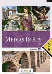 Medias In Res! L6. 5-6 NEU. Texte. Lösungen