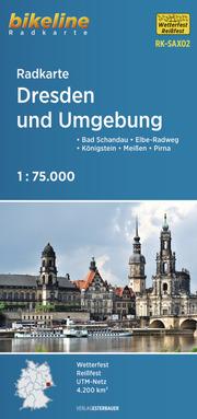 Radkarte Dresden und Umgebung (RK-SAX02)