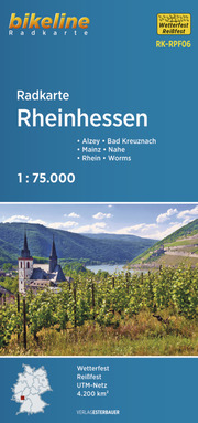 Radkarte Rheinhessen (RK-RPF06)