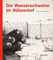 Die Wasserschweine im Hühnerhof - Cover