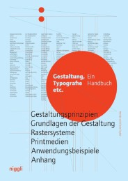 Gestaltung, Typografie etc.