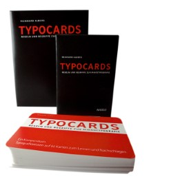 TYPOCARDS - Regeln und Begriffe zur Mikrotypografie