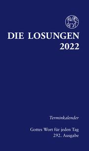 Die Losungen - Terminkalender 2022