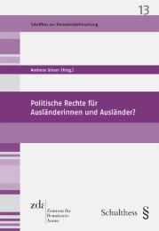 Politische Rechte für Ausländerinnen und Ausländer?