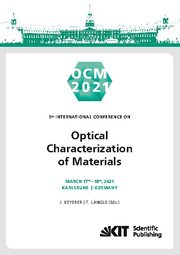 OCM 2021 - Optical Characterization of Materials : Conference Proceedings