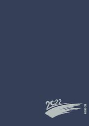 Foto-Malen-Basteln A4 dunkelblau mit Folienprägung 2022