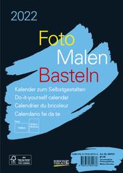 Foto-Malen-Basteln Bastelkalender A5 schwarz 2022