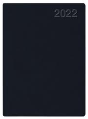 Handwerker-Kalender PVC schwarz 2022