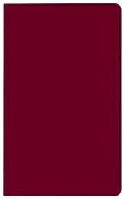 Taschenkalender Modus geheftet PVC burgund 2022