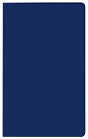 Taschenkalender Modus geheftet PVC blau 2022