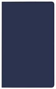 Taschenkalender Pluto geheftet PVC blau 2022