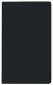 Taschenkalender Saturn Leporello PVC schwarz 2022