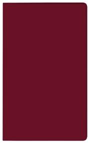 Taschenkalender Saturn Leporello PVC burgund 2022
