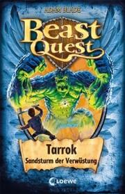Beast Quest (Band 62) - Tarrok, Sandsturm der Verwüstung