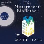 Die Mitternachtsbibliothek (Gekürzte Lesung) - Cover