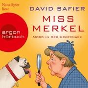 Miss Merkel - Mord in der Uckermark (Gekürzt) - Cover