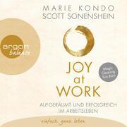 Joy at Work - Aufgeräumt und erfolgreich im Arbeitsleben (Ungekürzte Lesung) - Cover