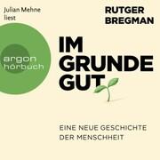 Im Grunde gut - Eine neue Geschichte der Menschheit (Ungekürzte Lesung) - Cover