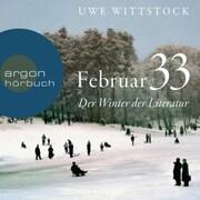 Feb 33 - Der Winter der Literatur (Ungekürzt)
