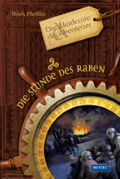 Die Akademie der Abenteuer - Die Stunde des Raben - Cover