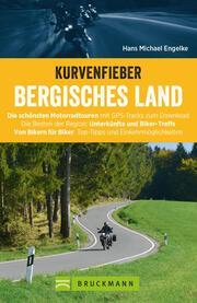 Kurvenfieber Bergisches Land. Motorradführer im Taschenformat - Cover