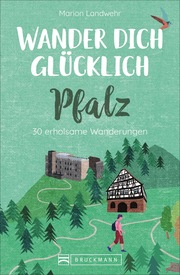 Wander dich glücklich - Pfalz - Cover