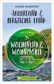Wochenend und Wohnmobil - Kleine Auszeiten Sauerland & Bergisches Land - Cover