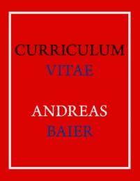 Curriculum Vitae - Andreas Baier