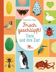 Frisch geschlüpft! - Tiere und ihre Eier - Cover