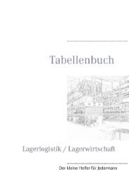 Tabellenbuch Lagerlogistik/Lagerwirtschaft