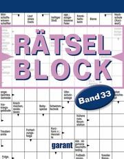 Rätselblock 33