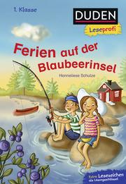 Duden Leseprofi - Ferien auf der Blaubeerinsel - Cover