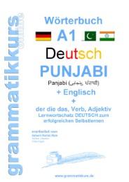 Wörterbuch A1 Lektion 1 Deutsch/Punjabi/Englisch