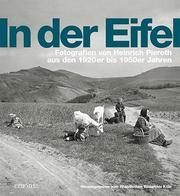 In der Eifel - Cover