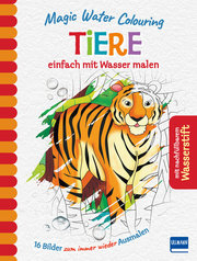 Magic Water Colouring - Tiere