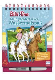 Bibi & Tina - Mein pferdestarker Wassermalspaß (Magic Water Colouring)