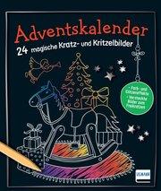 Adventskalender - 24 magische Kratz- und Kritzelbilder