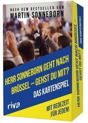 Herr Sonneborn geht nach Brüssel - gehst du mit?
