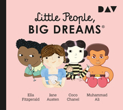 Little People, Big Dreams 2: Ella Fitzgerald, Jane Austen, Coco Chanel, Muhammad Ali