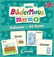 Mein Bildermaus-Memo - Zuhause/At Home