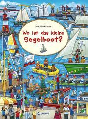 Wo ist das kleine Segelboot? - Cover
