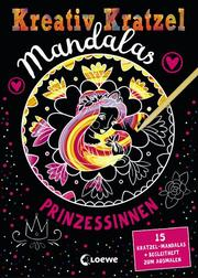 Kreativ-Kratzel Mandalas - Prinzessinnen