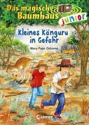 Kleines Känguru in Gefahr