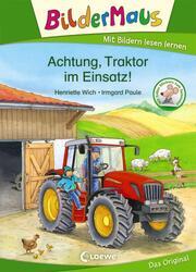 Achtung, Traktor im Einsatz!