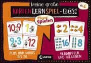 Meine große KartenLernSpiel-Box - Plus und Minus bis 20/Verdoppeln und Halbieren