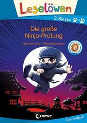Leselöwen - Die große Ninja-Prüfung - Cover