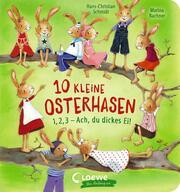 10 kleine Osterhasen