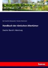 Handbuch der römischen Altertümer